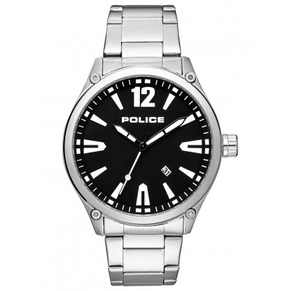 Police PL15244JBS.02M Denton Men's 48mm 3ATM