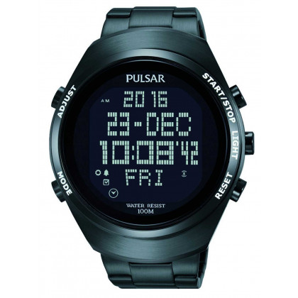 Pulsar PQ2057X1 Men's Digital-Chronograph 46mm 10 ATM