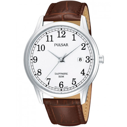 Pulsar PS9055X1 Timeless Men's Watch with Sapphire Glass