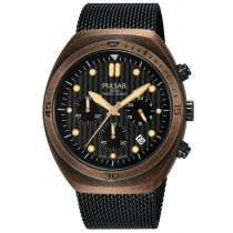 Pulsar PT3984X2 One Shot chrono w. second strap 42mm 10ATM