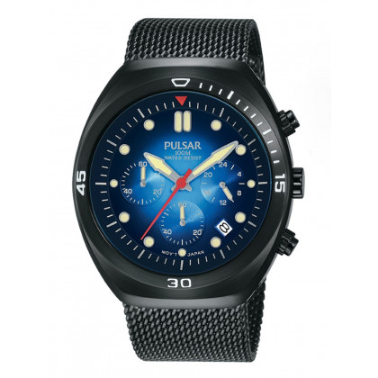 Lorus PT3951X2 Chronograph with second Strap 42mm 10 ATM