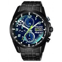 Pulsar PZ6037X2 5 Rally Solar Chrono Ltd. Men's 43mm 10ATM