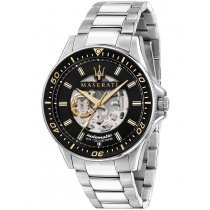 Maserati R8823140002 Sfida automatic men´s watch 44mm 10ATM