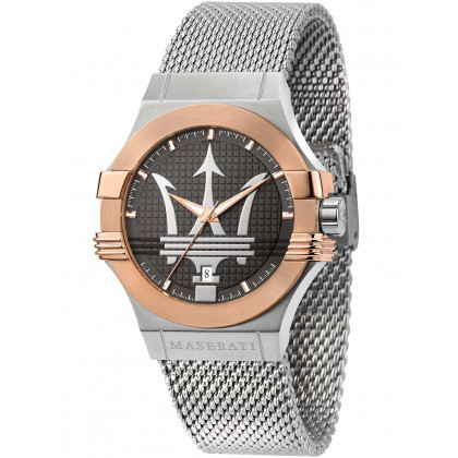 Maserati R8853108007 Potenza men`s watch 42mm 10ATM