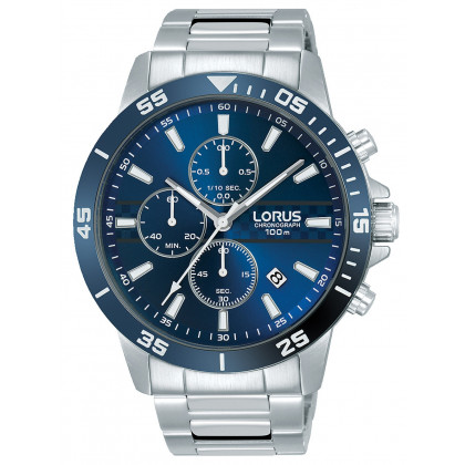 Lorus RM303FX9 Chrono Men's 44mm 10ATM