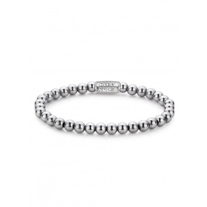 Rebel & Rose bracelet Silver Shine RR-60020-S-S ladies