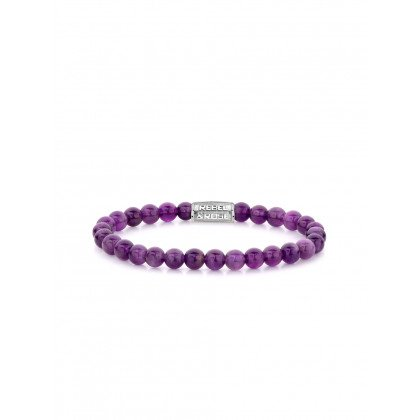 Rebel & Rose bracelet Purple Rain RR-60053-S-S ladies