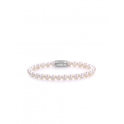 Rebel & Rose bracelet Pearl Gem RR-60054-S-S ladies