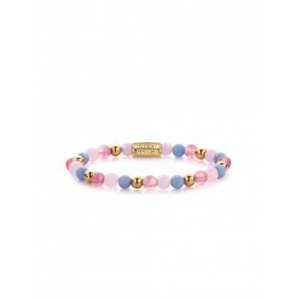 Rebel & Rose bracelet Pink Summer Vibes II RR-60055-G-S ladies