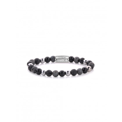 Rebel & Rose bracelet Shiny Night RR-60057-S-S ladies