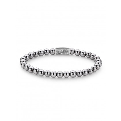 Rebel & Rose bracelet Silver Shine DV RR-6DV01-S-S ladies