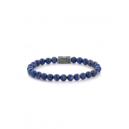Rebel & Rose bracelet Lapis Lazuli RR-6S002-S-M ladies