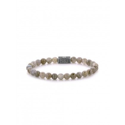 Rebel & Rose bracelet Labradorite Shield 925 RR-6S005-S-S ladies