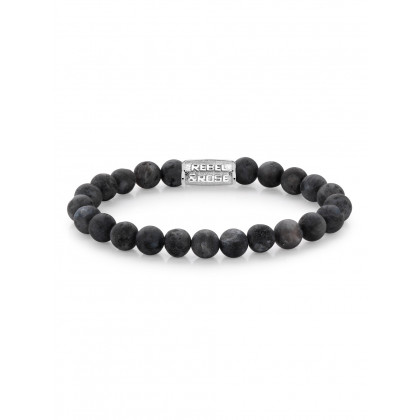 Rebel & Rose bracelet Matt Grey Seduction RR-80025-S-M men`s