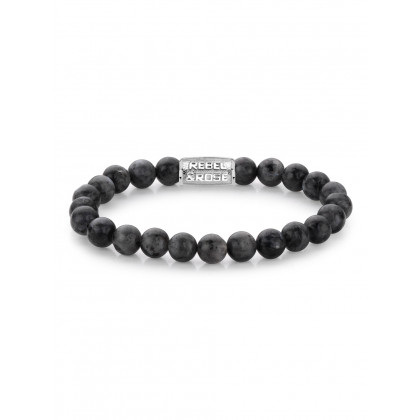 Rebel & Rose bracelet Grey Seduction RR-80026-S-L men`s