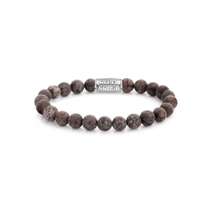 Rebel & Rose bracelet Matt Brown Sugar RR-80031-S-M men`s