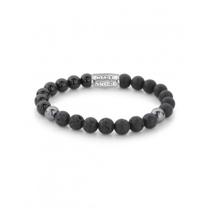 Rebel & Rose bracelet Black Thunder RR-80053-S-L men`s