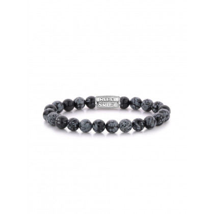 Rebel & Rose bracelet Black Leopard RR-80062-S-M men`s