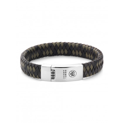 Rebel & Rose bracelet Braided Flat RR-L0015-N-21 men`s