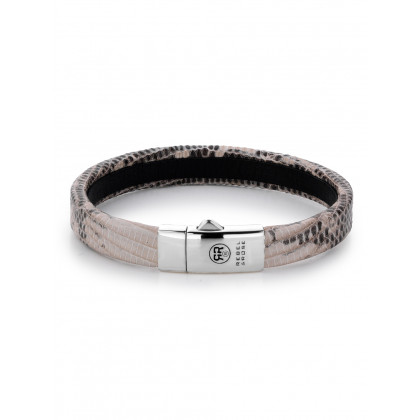 Rebel & Rose bracelet Lizzard RR-L0057-S-S men`s