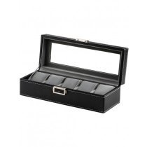 Rothenschild watch box RS-1679-5BK for 5 watches black