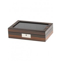 Rothenschild watch box RS-2386-10EB for 10 watches ebony