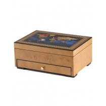 Rothenschild watch box RS-2393-8MAP for 8 watches + small parts