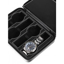 Rothenschild Watch Showcase RS-3012-8BL for 8 Watches Black