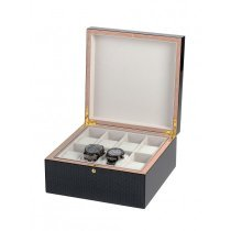 Rothenschild Watches & Jewellery Box RS-5598-8 For 8 Watches carbon-grey
