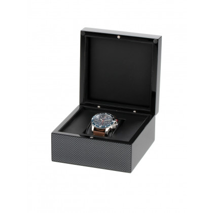 Exklusive Wooden Watch Gift Box RS-2000-1BK for one watch black
