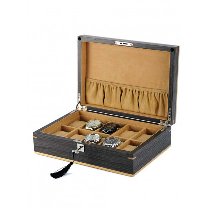 Rothenschild Watch Box [10] Ginko RS-2320-10G
