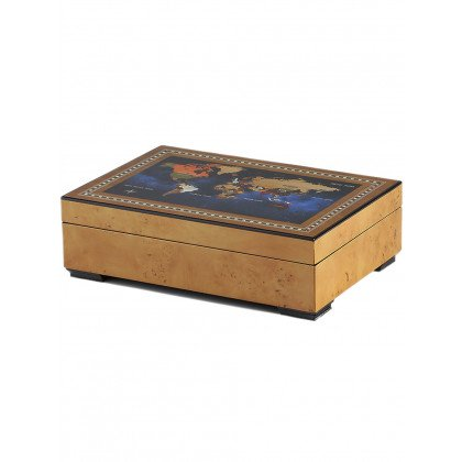 Rothenschild watch box RS-2392-6MAP for 6 watches + small parts