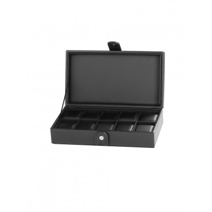 Rothenschild watch box RS-3500-10BL for 10 watches black