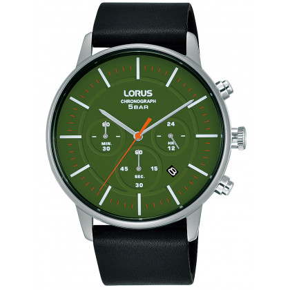 Lorus RT309JX9 classic chronograph 43mm 5ATM