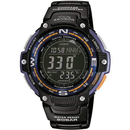 Casio SGW-100-2BER Collection men`s 48mm 20ATM