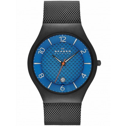Skagen SKW6147 Men's Watch Grenen Titanium Black Blue 41mm