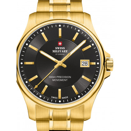 Swiss Military SM30200.08 men`s 39mm 5ATM