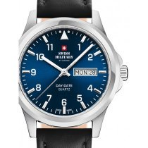 Swiss Military SM34071.03 men`s 40mm 5ATM