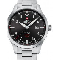 Swiss Military SM34078.01 Men's 43mm 10ATM