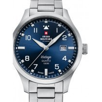 Swiss Military SM34078.03 men´s watch 43mm 10ATM