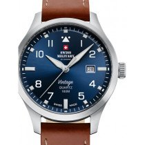 Swiss Military SM34078.07 Men's 43mm 10ATM