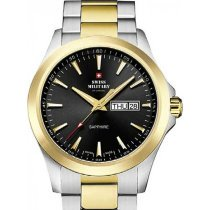 Swiss Military by Chrono SMP36040.27 sapphire men`s 42mm 5ATM