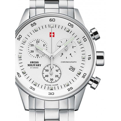 Swiss Military SM34005.02 Ladies-Chronograph 36mm 5 ATM