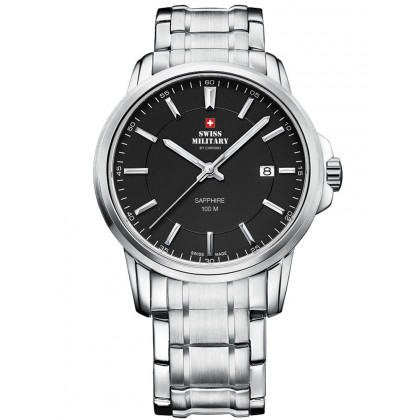 Swiss Military SM34039.01 Men's Sapphire 40mm 10 ATM