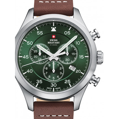Swiss Military SM34076.07 Chronograph 43mm 10ATM