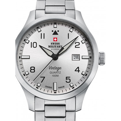 Swiss Military SM34078.02 men´s watch 43mm 10ATM