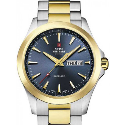 Swiss Military by Chrono SMP36040.28 sapphire men`s 42mm 5ATM