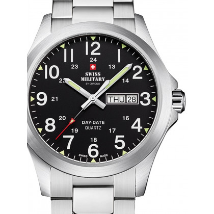 Swiss Military SMP36040.25 Men's 42mm 5ATM