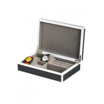 Rothenschild Watches & Jewellery Box RS-2331-4GR for 4 Watches Gray