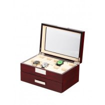 Rothenschild Watch Box RS-2350-20C for 20 Watches Cherry